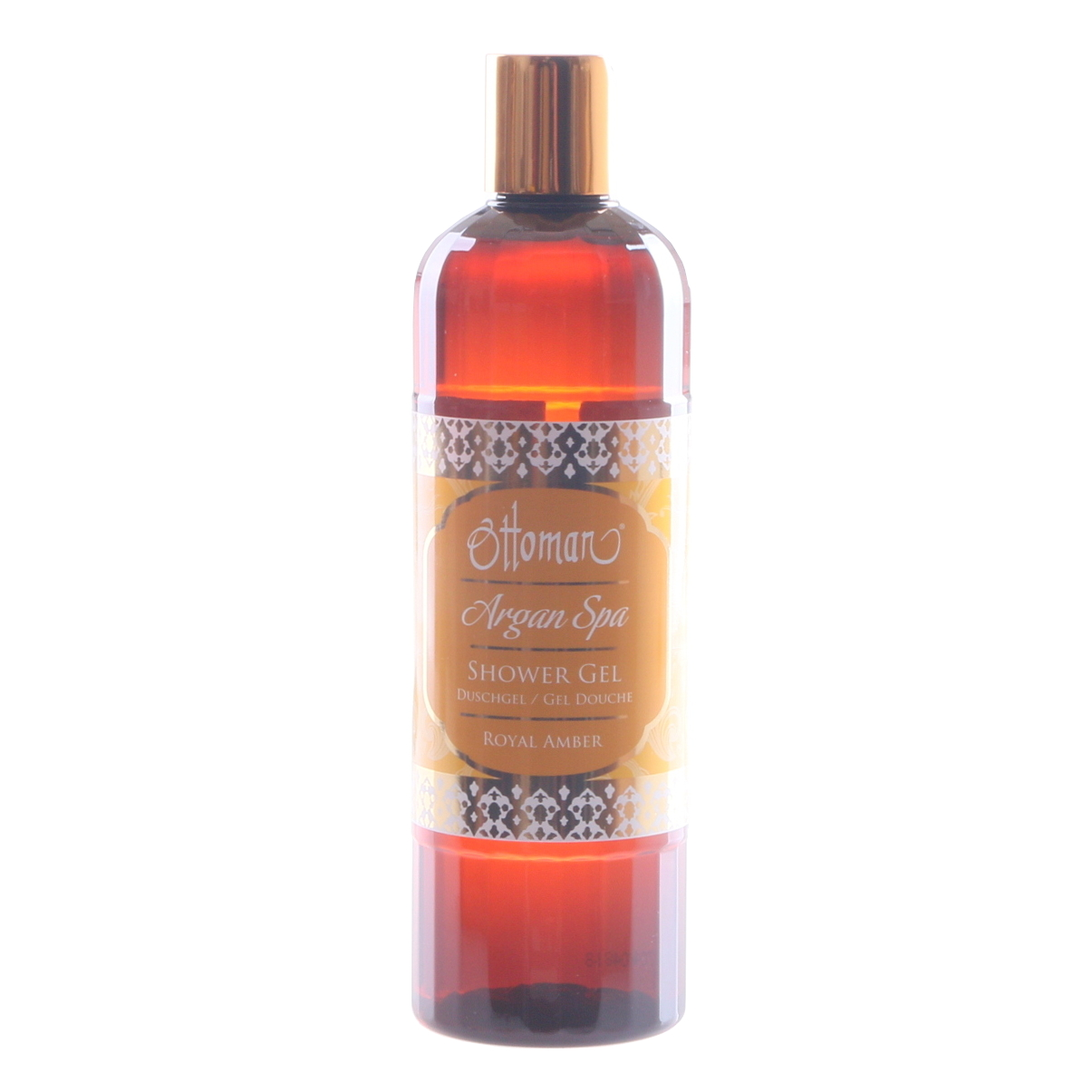 royal amber shower gel by Ottoman