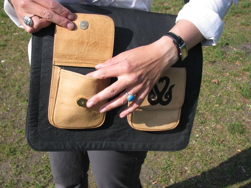 Gundara - External pockets