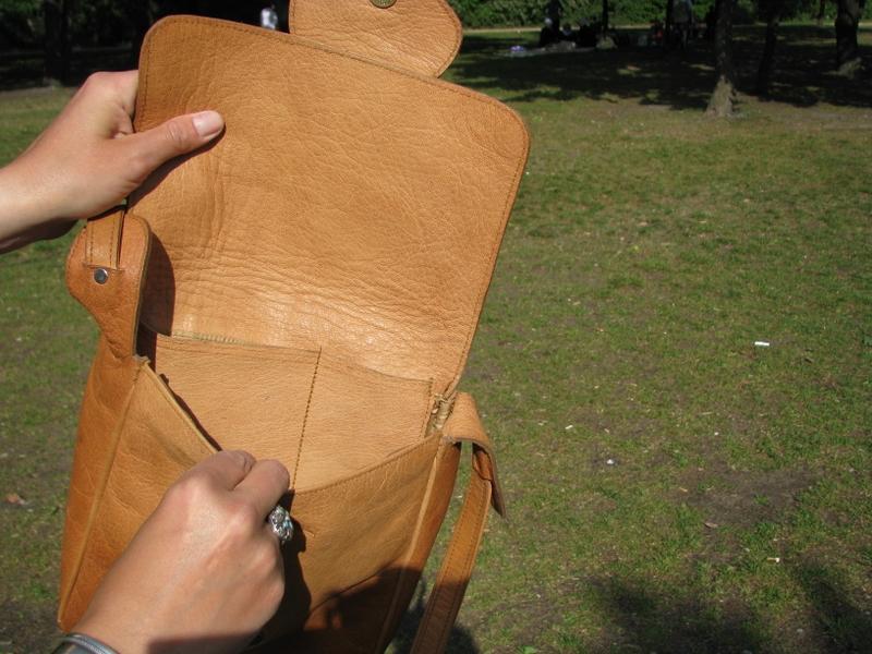 Gundara - Sufi - open - genuine leather - from Afghanistan