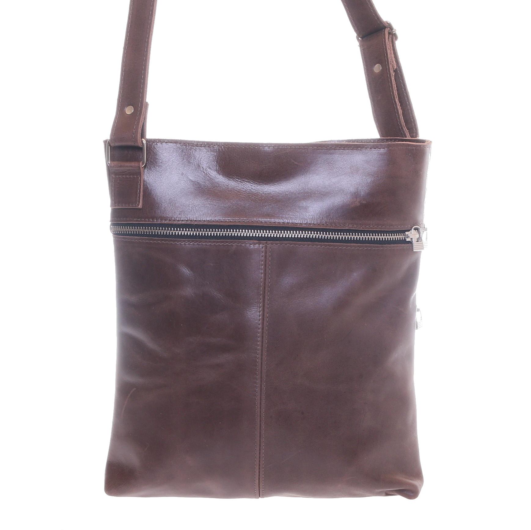Gundara - fairtrade genuine cow leather bag - handmade in Ethiopia