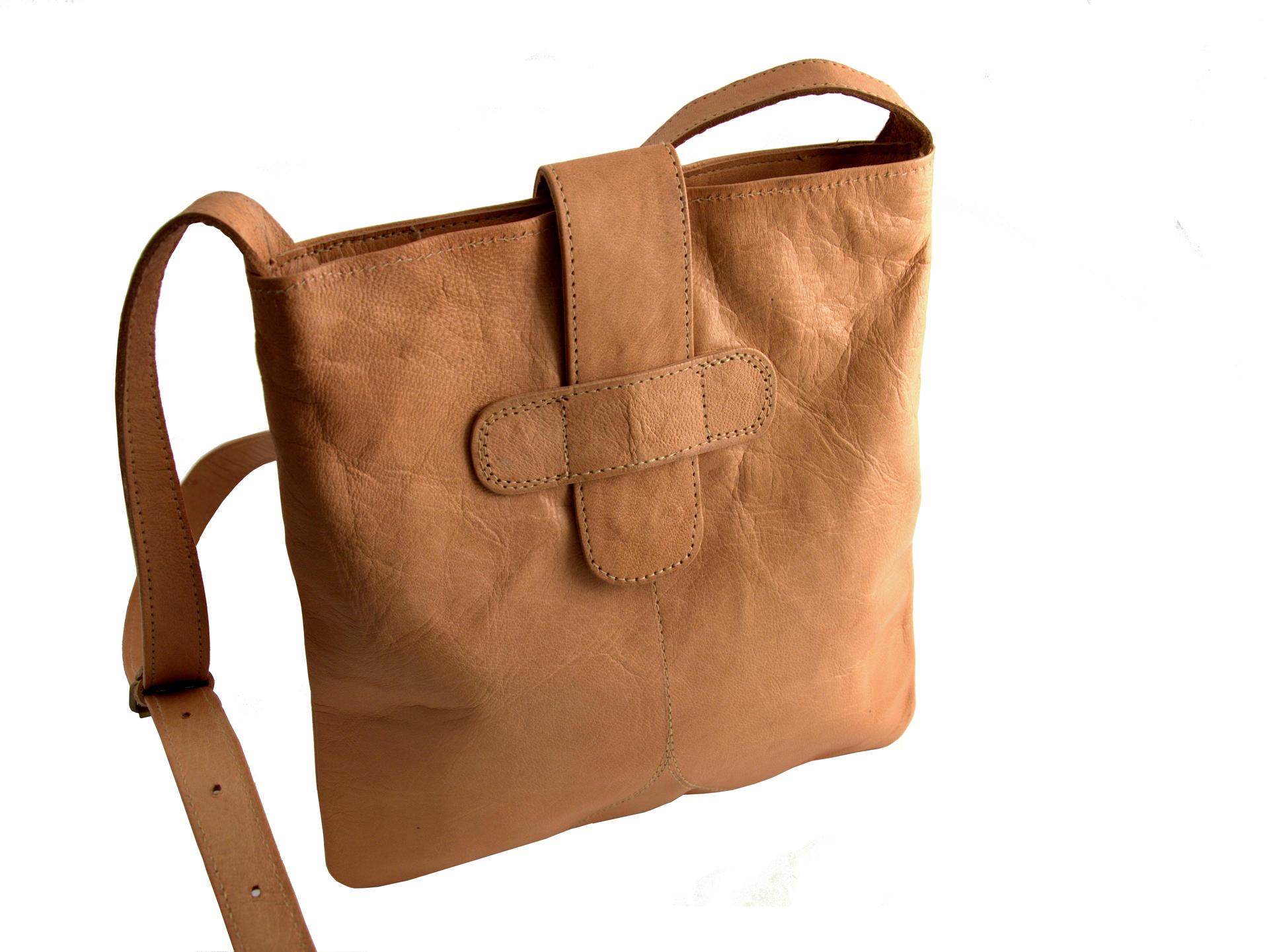 Gundara - small shoulder bag Selma - Afghanistan - genuine leather