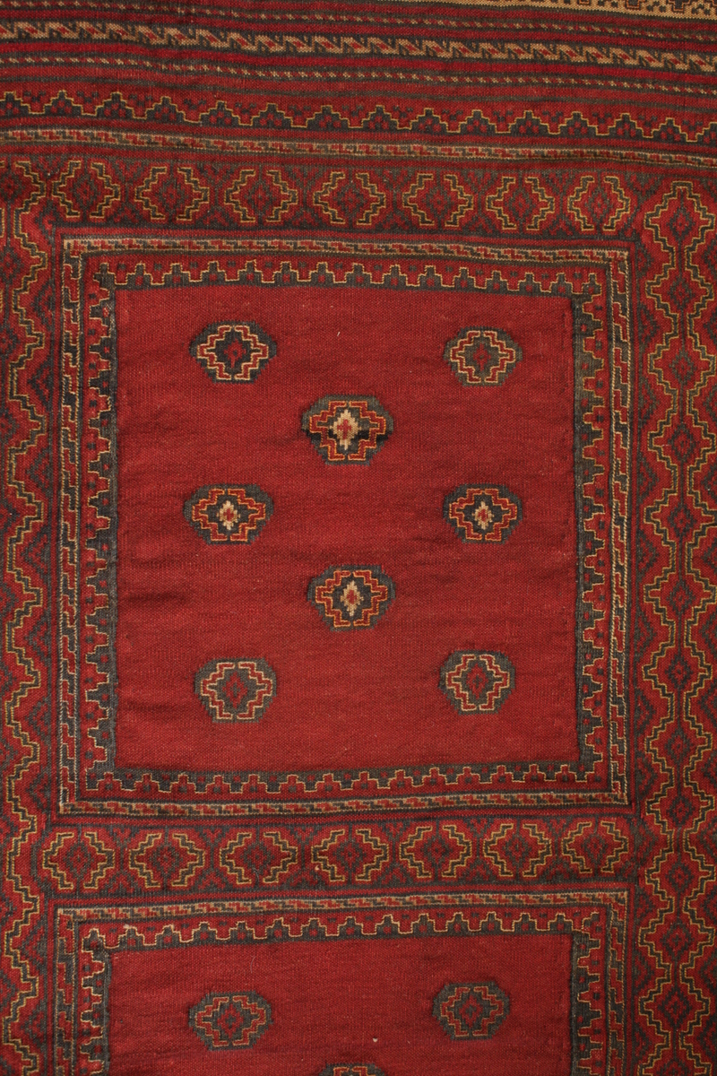 Detail des Musters - Herati - roter Belutsch-Läufer - etwas anderes