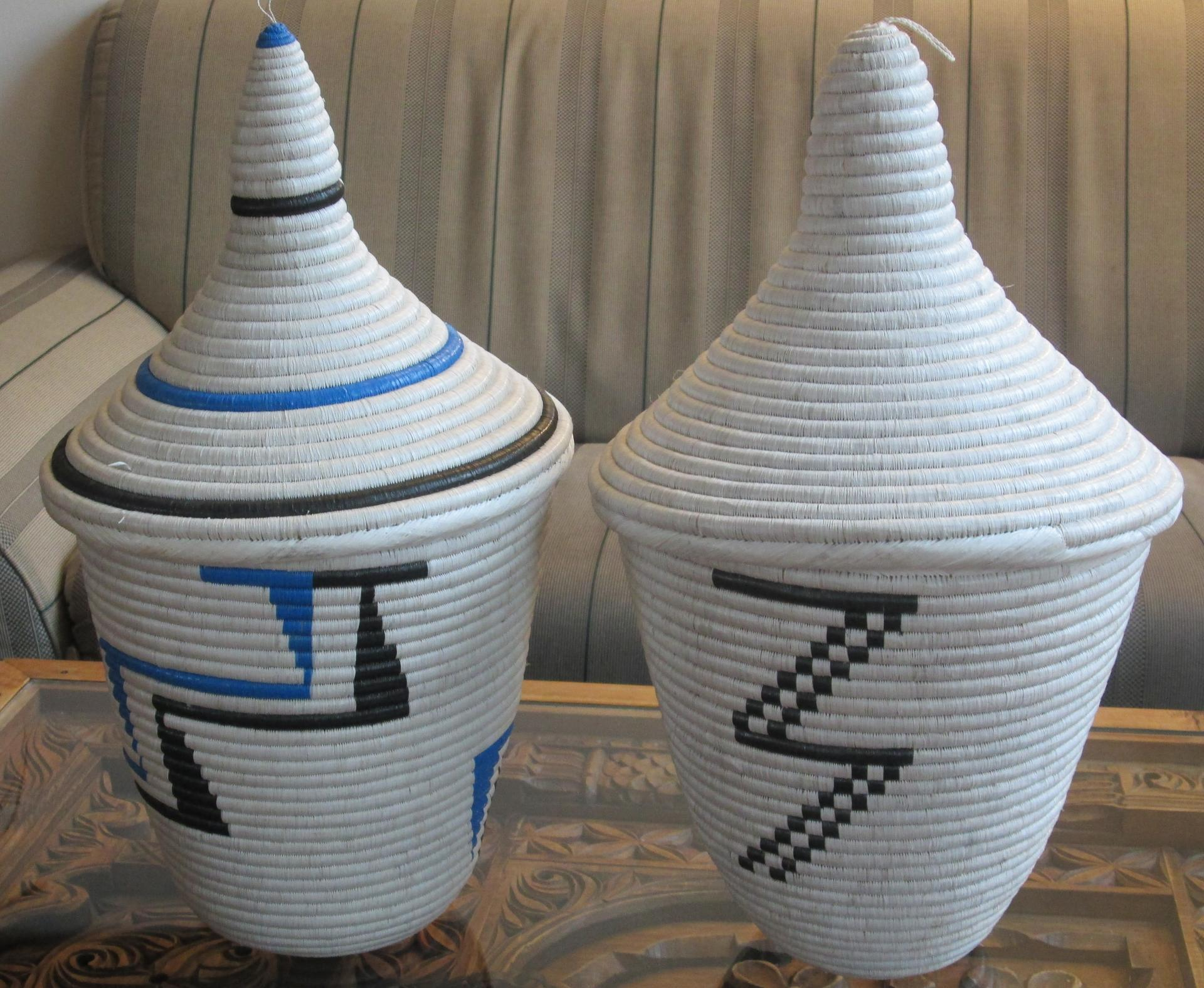 Peace Baskets - handmade in reconciliation project in Rwanda - Kajuga