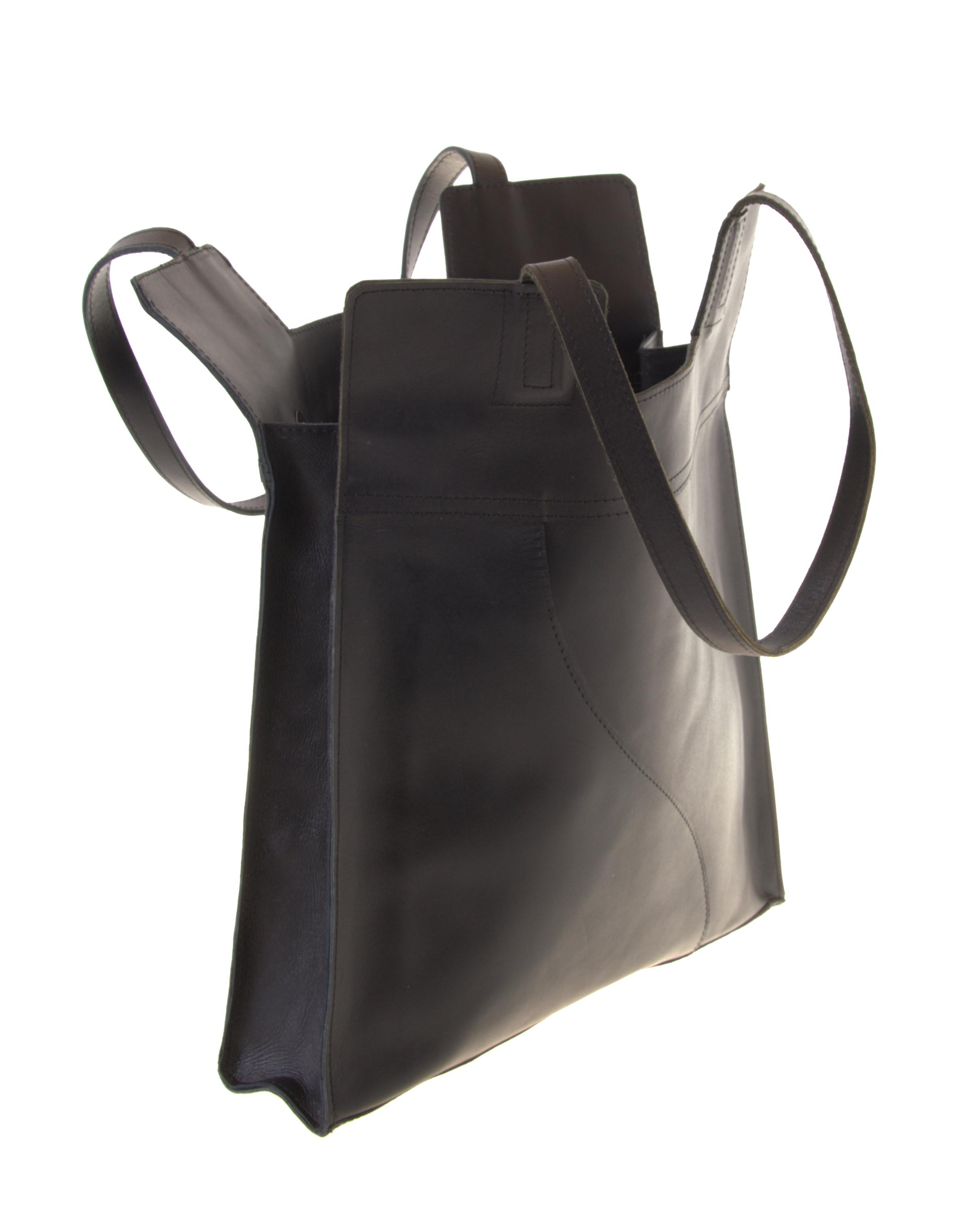 Einkaufstasche Kuhleder Shopper Schultertasche