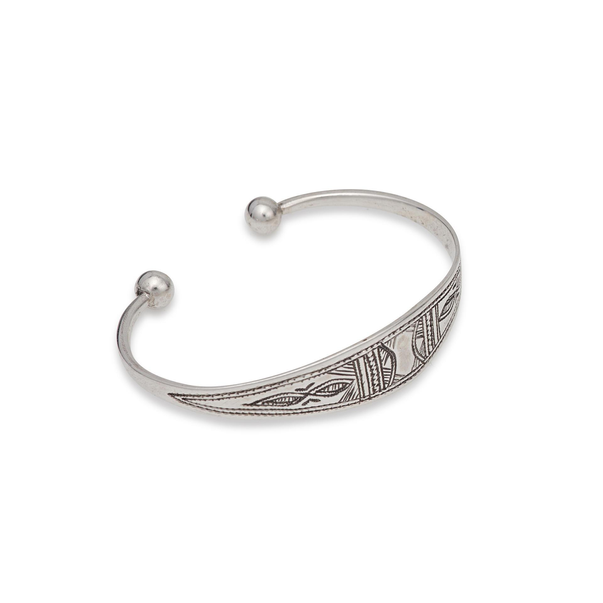 Fine Tuareg Silver Bracelet