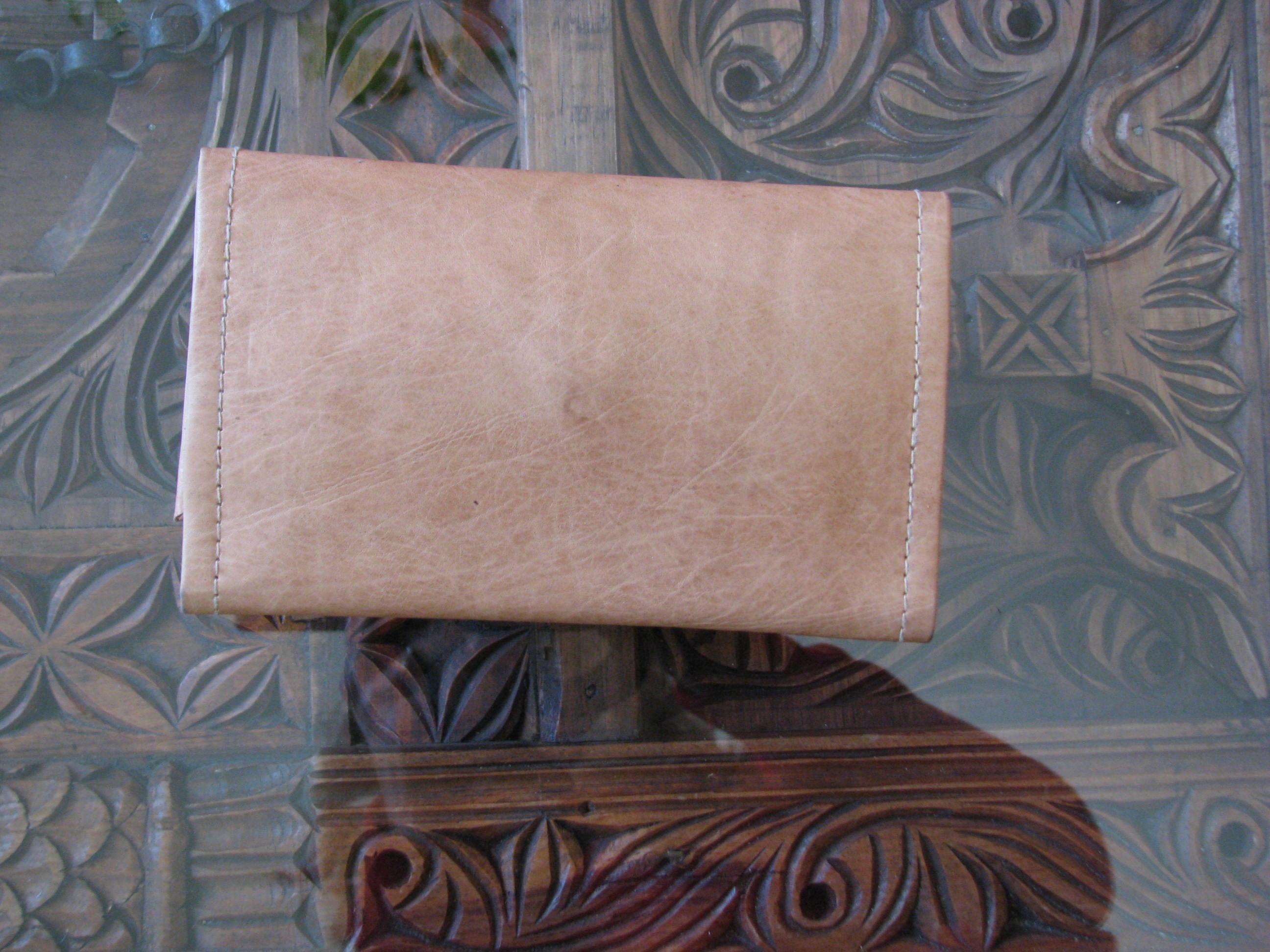 Leder-Portemonnaie für Damen