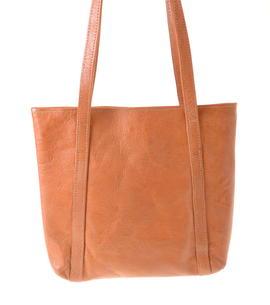 Missy Simple sac en cuir simple et naturel fait à Kabul