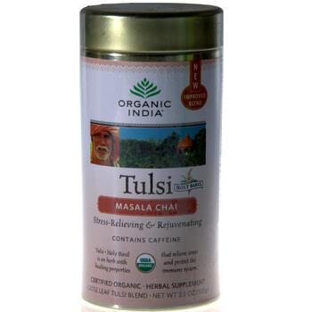 100g loose organic tulsi chai masala