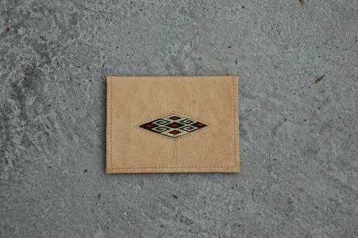 Gundara - Reisepasshülle - aus Leder - aus Afghanistan