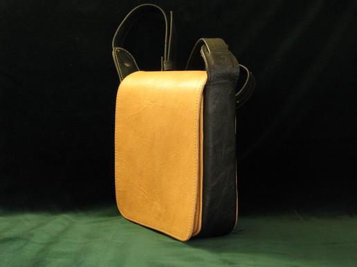 Gundara - Nigora - kleine Lederhandtasche - aus Afghanistan