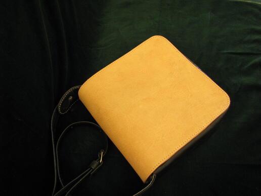 Gundara - Nigora - real leather evening handbag - made in Afghanistan