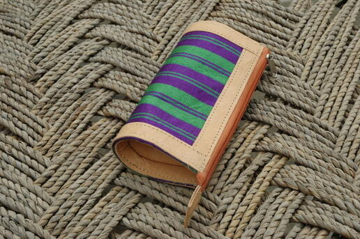 Gundara - Leather Accessoire - Karina pencil-case - handmade in Afghanistan