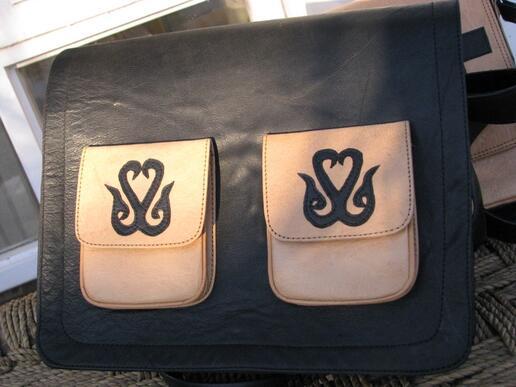 Gundara - Black Kyrgyz - laptop bag