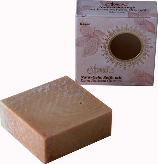 Exclusive soap - olive oil - cocoa scent - vegan - all natural