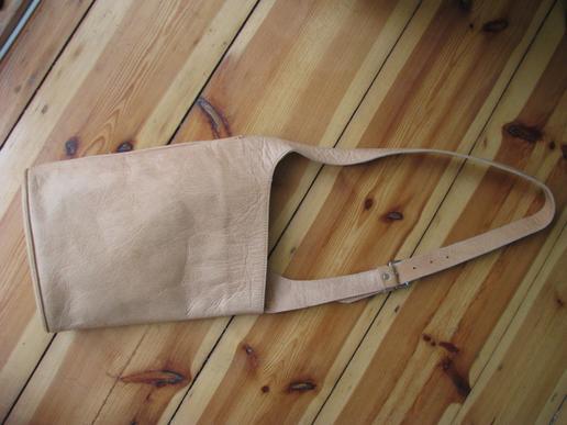 Gundara - Summer Time - handmade wrap leather bag - genuine leather