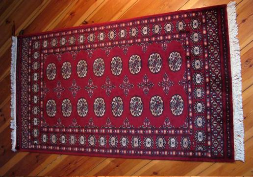 klassischer Buchara Teppich - handgeknüpft - Hauch von Seidenstraße - 100% Wolle