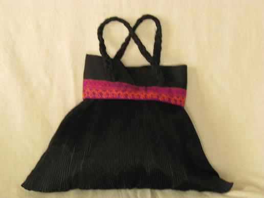 Gundara - Burqa bag - handmade by Afghan women - blck nylon