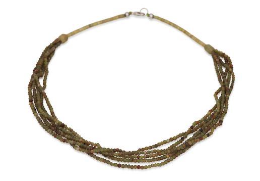 gundara necklace serpentine Afghanistan