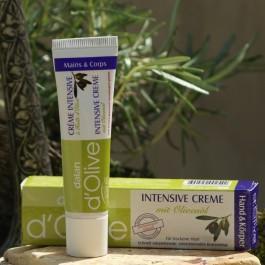 Handcreme - Intensivcreme für empfindliche Haut von Dalan d'Olive - mit Olivenöl
