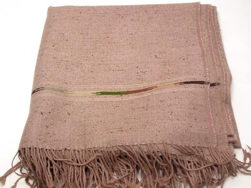 Patu in angenehmem Hellbraun-Lachs-Mischfarbton - fair gehandelt aus Pakistan
