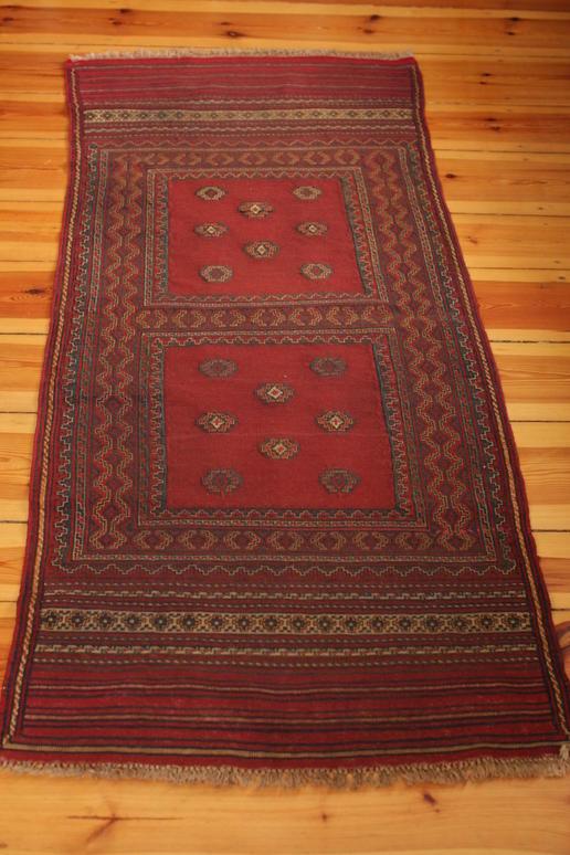 Herati Style Red Runner