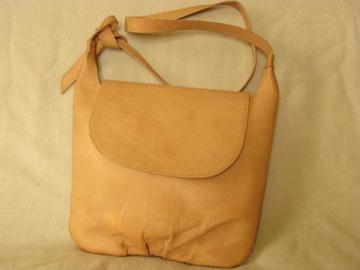 Gundara - Fluffy - shoulder bag - genuine leather - made in Afghanistan