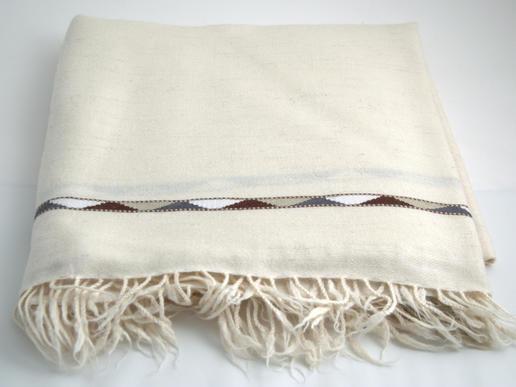 patou ivoire en laine douce