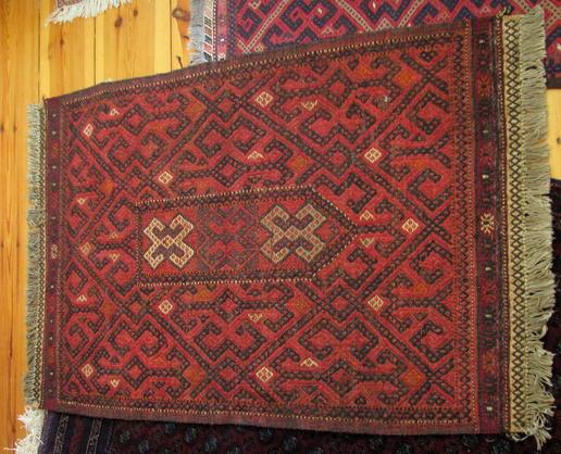 Gundara - hand stitched carpet - Afghan Olam Suzani