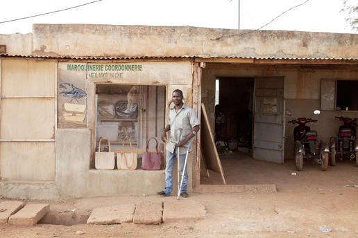 at the manufacture in Ouagadougou