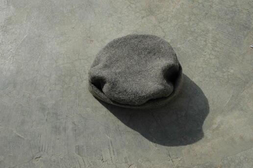Gundara - Neo-Pakol - chapeau en laine - Par Zardozi