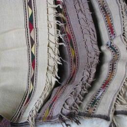 Gundara - Afghan Patu - woolen plaid in different colors - baby blanket