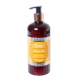 amber body lotion Argan Spa by Ottoman