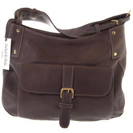 Dark Brown Leather Bag