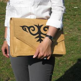 Gundara - Kyrgyz Docs to Go - document holder in leather
