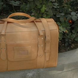 Gundara - Traveller Classic Medium - genuine leather - made in Afghanistan