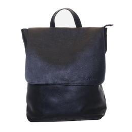 Gundara - fair laptop backpack - handmade - genuine black cow leather
