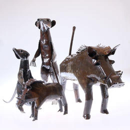 Upcycling Animals from Zimbabwe