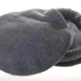 Dunkelgrauer Pakol - Paschtunen-Mütze - Wollmütze aus Pakistan - fair gehandelt - handgewebt in Weber-Kooperative