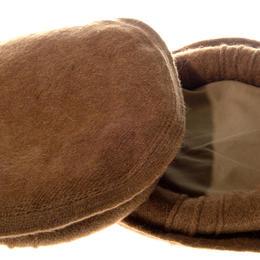 Pakol - erdbraun - fair aus Pakistan - Paschtunen-Mütze - aus Wolle handgewebt - Massoud - Nordallianz - Gundara