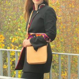 petit sac cuir naturel - Gundara