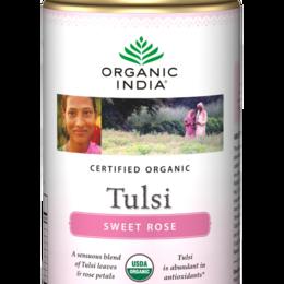 tulsi rose - en boite de 100g