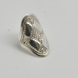 Tuareg-Ring aus Silber Modell Allianz