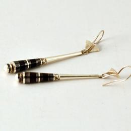 Ohrringe - pures Silber - Design der Tuareg - handgemacht und fair - Gundara