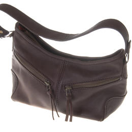 Todd leather bag in dark brown by Jackal and Hide