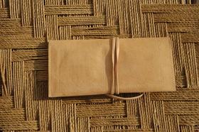 Gundara - Wickel - Kosmetik- oder Stiftetasche in Leder