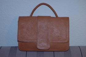 Miss 50's - handbag - made in Afghanistan - natural leather - Gundara