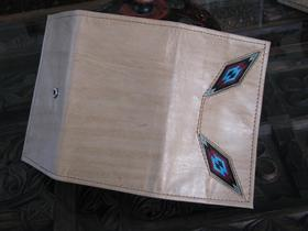 Gundara - Ute's Wallet - leather wallet for ladies - back