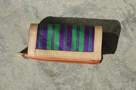 Gundara - Leather Accessoire - Karina pencil-case - chopan material - handmade