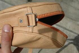 Gundara - Kolola - natural leather bag - handmade in Afghanistan