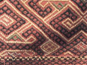 Sousani Afghan Jaune et Brique - detail - Gundara